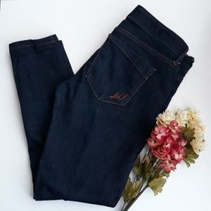 Express cropped skinny jeans